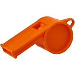 Hoot traditional referee whistle, GPPS Plastic, Orange
