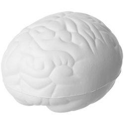 Jucarie antistres Creier, Everestus, ASJ074, poliuretan, alb
