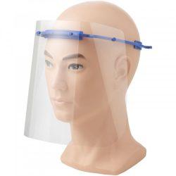 Vizor de protectie pentru fata, Mediu, 15,7x21x17,9 cm, MNB, 20SEP0095, ABS, Plastic, Albastru