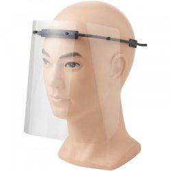 Vizor de protectie pentru fata, Mediu, 15,7x21x17,9 cm, MNB, 20SEP0096, ABS, Plastic, Negru