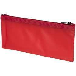 Fabien frost pencil case, PVC, Transparent, Red