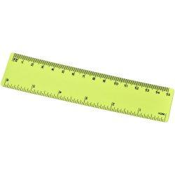 Rothko 15 cm PP ruler, PP Plastic, Lime