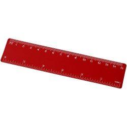 Rothko 15 cm PP ruler, PP Plastic, Red