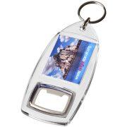 Breloc desfacator de sticle, Everestus, KR0401, plastic, transparent