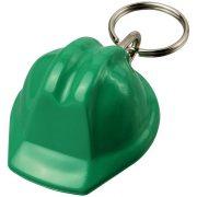 Breloc casca constructor, KR0564, plastic, verde