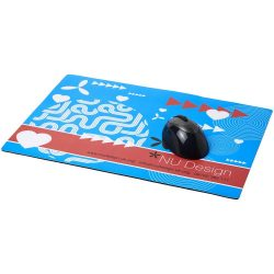 Q-Mat® A4 sized counter mat, Recycled plastic, 350g/m² gloss paper and black masterbatch, solid black