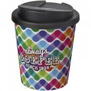 Cana de voiaj Espresso, 250 ml, 12xø9,5 cm, Americano, 20SEP0847, Polipropilena, Alb, Negru