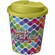 Cana de voiaj Espresso, 250 ml, 12xø9,5 cm, Americano, 20SEP0841, Polipropilena, Alb, Verde
