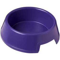 Jet plastic dog bowl, PP Plastic, Purple