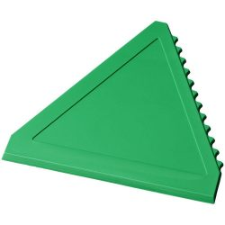 Averall triangle ice scraper, GPPS Plastic, Green