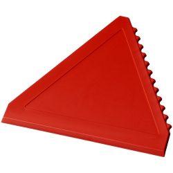 Averall triangle ice scraper, GPPS Plastic, Red