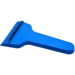 Shiver t-shaped ice scraper, GPPS Plastic, Blue