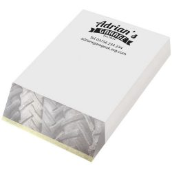 Wedge-Mate® A7 notepad, Paper, cardboard, White