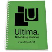 Rothko A5 notebook, Paper, polypropylene, Green,White, 50