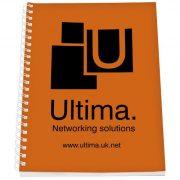 Rothko A5 notebook, Paper, polypropylene, Orange,White, 50