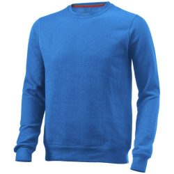 Toss crew neck sweater, Unisex, French Terry of 50% Cotton and 50% Polyester, Sky blue, L