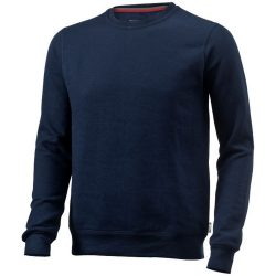 Toss crew neck sweater, Unisex, French Terry of 50% Cotton and 50% Polyester, Navy, S