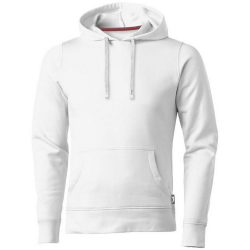 Alley hooded sweater, Male, French Terry of 50% Cotton and 50% Polyester, White, S
