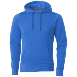 Alley hooded sweater, Male, French Terry of 50% Cotton and 50% Polyester, Sky blue, M
