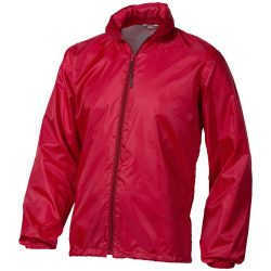 Action jacket, Unisex, 100% Polyester with AC milky coating, Red, XXXL