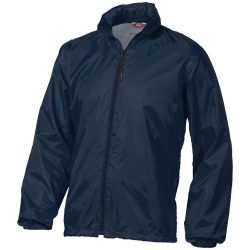 Action jacket, Unisex, 100% Polyester with AC milky coating, Navy, L