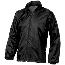 Action jacket, Unisex, 100% Polyester with AC milky coating, solid black, XXXL