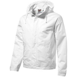 Top Spin jacket, Male, Taslon of 100% Polyester with AC coating Lining of 100% Polyester Taffeta, White, L