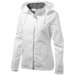 Top Spin ladies jacket, Female, Taslon of 100% Poyester with AC coating Lining of 100% Polyester taffeta, White, XXL