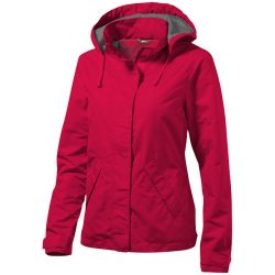 Top Spin ladies jacket, Female, Taslon of 100% Poyester with AC coating Lining of 100% Polyester taffeta, Red, XXL