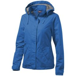Top Spin ladies jacket, Female, Taslon of 100% Poyester with AC coating Lining of 100% Polyester taffeta, Sky blue, XL