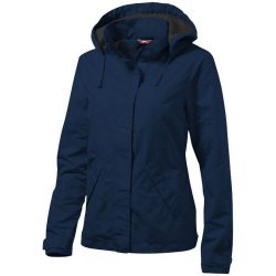 Top Spin ladies jacket, Female, Taslon of 100% Poyester with AC coating Lining of 100% Polyester taffeta, Navy, XXL