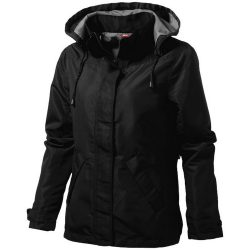 Top Spin ladies jacket, Female, Taslon of 100% Poyester with AC coating Lining of 100% Polyester taffeta, solid black, XXL