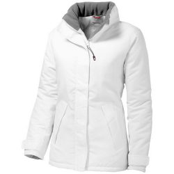 Under Spin ladies insulated jacket, Female, Taslon of 100% Polyester with AC coating Lining of 100% Polyester quilted taffeta Padding 100% Polyester, White, XL