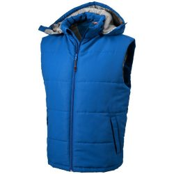 Gravel bodywarmer, Male, Taslon of 100% Polyester with AC coating Lining of 100% Polyester taffeta, Sky blue, M