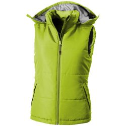 Gravel ladies bodywarmer, Female, Taslon of 100% Polyester with AC coating Lining of 100% Polyester taffeta, Apple Green, M