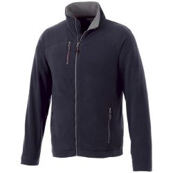 Pitch microfleece jacket, Male, Microfleece of 100% Polyester, Navy, S