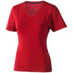 Kawartha short sleeve women's organic t-shirt, Female, Single Jersey knit of 95% organic ringspun Cotton and 5% Elastane, Red, S