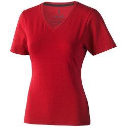 Kawartha short sleeve women's organic t-shirt, Female, Single Jersey knit of 95% organic ringspun Cotton and 5% Elastane, Red, S