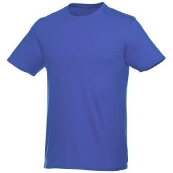 Heros short sleeve unisex t-shirt, Unisex, Single Jersey knit of 100% Cotton, Blue, XXS