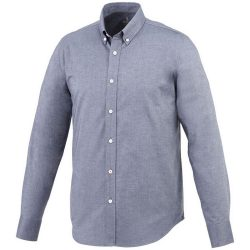 Vaillant long sleeve Shirt, Male, Oxford of 100% Cotton 40x32/2, 110x50, Navy, XS