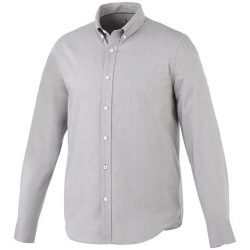Vaillant long sleeve Shirt, Male, Oxford of 100% Cotton 40x32/2, 110x50, steel grey , L