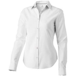 Vaillant long sleeve ladies shirt, Female, Oxford of 100% Cotton 40x32/2, 110x50, White, L