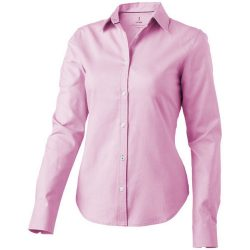 Vaillant long sleeve ladies shirt, Female, Oxford of 100% Cotton 40x32/2, 110x50, Pink, XXL