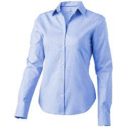 Vaillant long sleeve ladies shirt, Female, Oxford of 100% Cotton 40x32/2, 110x50, Light blue, XXL