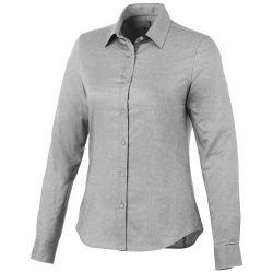 Vaillant long sleeve ladies shirt, Female, Oxford of 100% Cotton 40x32/2, 110x50, steel grey , M