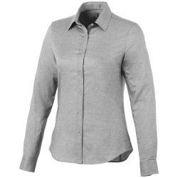 Vaillant long sleeve ladies shirt, Female, Oxford of 100% Cotton 40x32/2, 110x50, steel grey , L