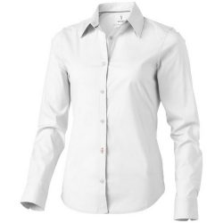 Hamilton long sleeve ladies shirt, Female, Poplin of 100% Cotton 45x40, 142x92, White, L