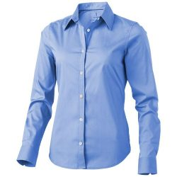 Hamilton long sleeve ladies shirt, Female, Poplin of 100% Cotton 45x40, 142x92, Light blue, M