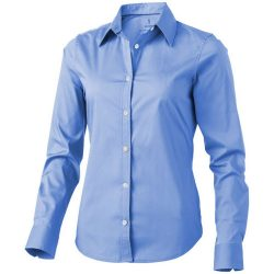 Hamilton long sleeve ladies shirt, Female, Poplin of 100% Cotton 45x40, 142x92, Light blue, L