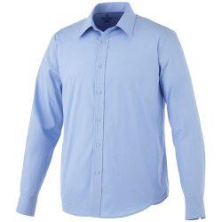 Hamell long sleeve shirt, Male, Poplin of 96% Cotton, 4% Elastane 50x50+40D, 170x72, Light blue, XXXL